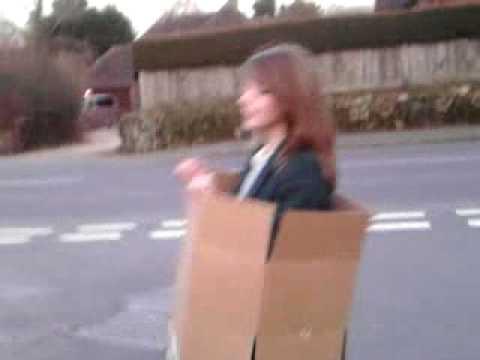 i live in a cardboard box