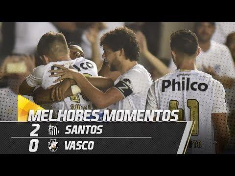 Santos 2 x 0 Vasco | MELHORES MOMENTOS | Copa do Brasil (17/04/19)