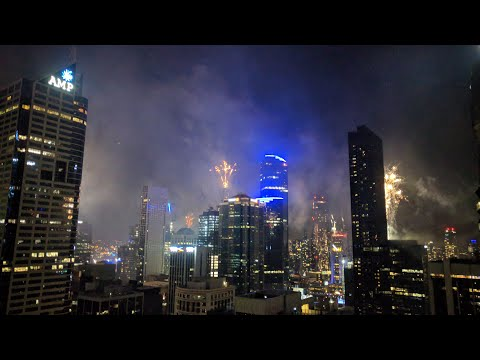 Melbourne Australia - New Year Eve Fireworks 2019 - 2020 *Live*