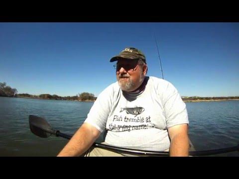 Beginning Kayak Fishing: January's Been Rough