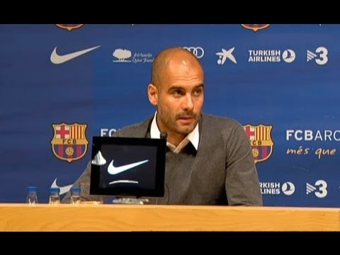 April 27 | Pep Guardiola quits Barcelona