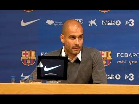 April 27   Pep Guardiola quits Barcelona