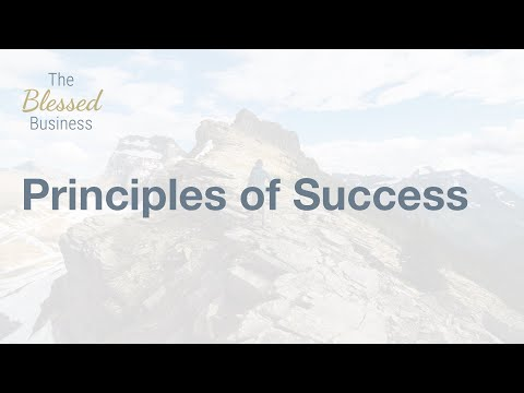 Principles of Success | Dr. Nathaniel Wilson
