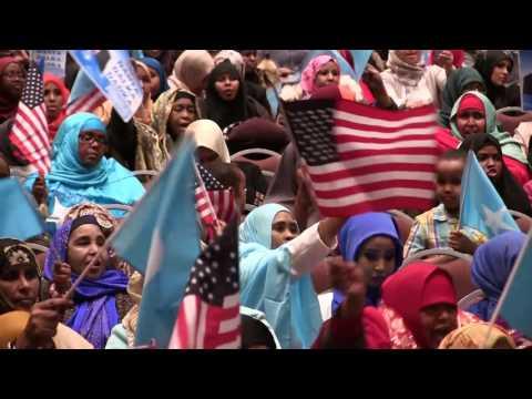 Khudbadahii U S  Senator Amy Klobuchar & Said Ali Xafladdii Farmaajo
