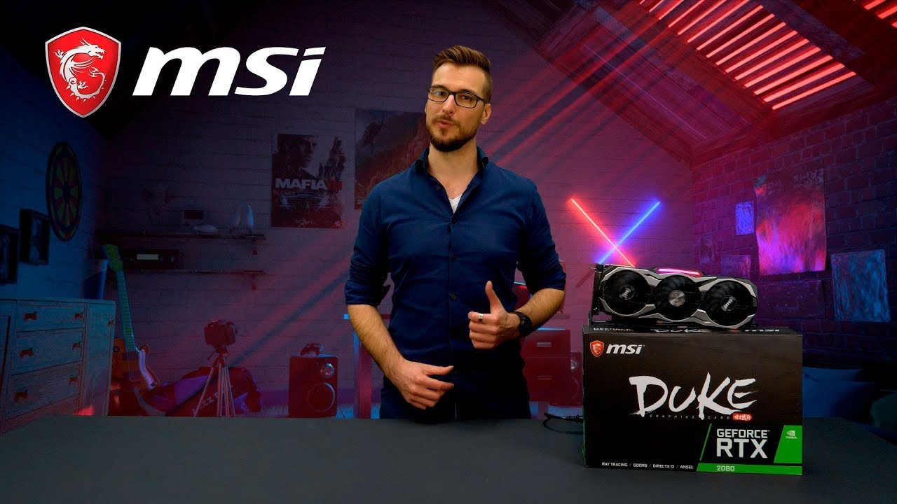 Everything you need to know about the RTX 20 DUKE series | Gaming Graphics Card | MSI