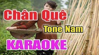 Chân Quê Karaoke ( Toe Nam ) - Nhạc Sống Thanh Ngân