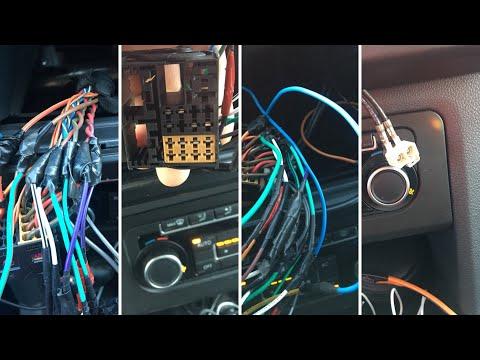 Меняем штатную магнитолу. Разбираем панель. Опыт эксплуатации Volkswagen Amarok.