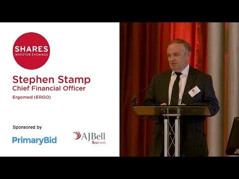 Stephen Stamp, CFO of Ergomed (ERGO)