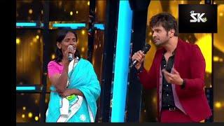 Ranu mandal live show super star singer with himesh rasamiya song teri meri kahani.