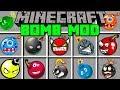 Minecraft BOMB MOD! | TNT, NUKES, EXPLOSIVES, & MORE! | (Modded-Mini Game)