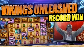 MUST SEE RECORD WIN!!!!!! NEW VIKINGS MEGAWAYS MONSTER HIT!