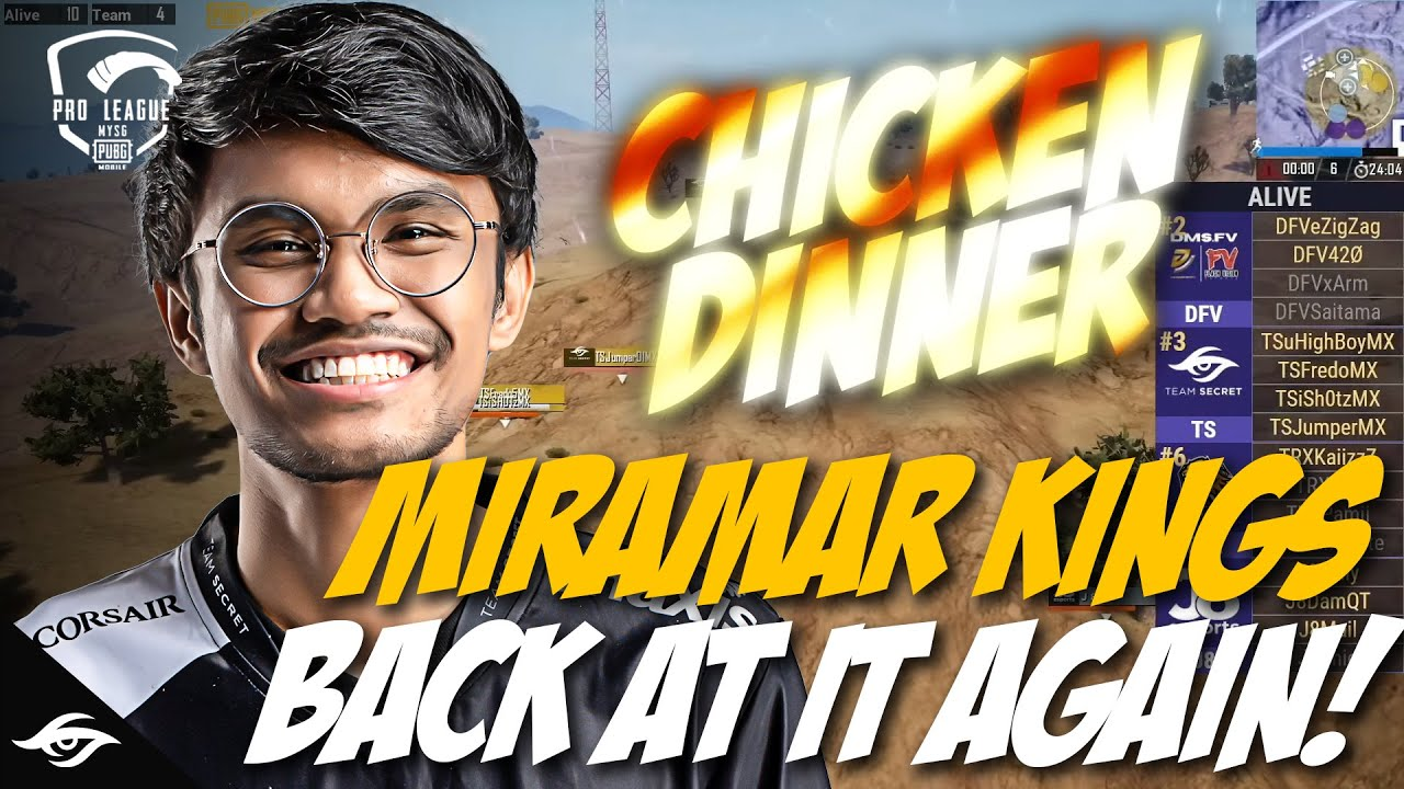 MIRAMAR KINGS AT IT AGAIN WITH STYLE! PUBG Mobile