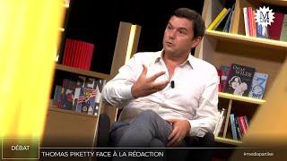 Thomas Piketty face à la rédaction de Mediapart