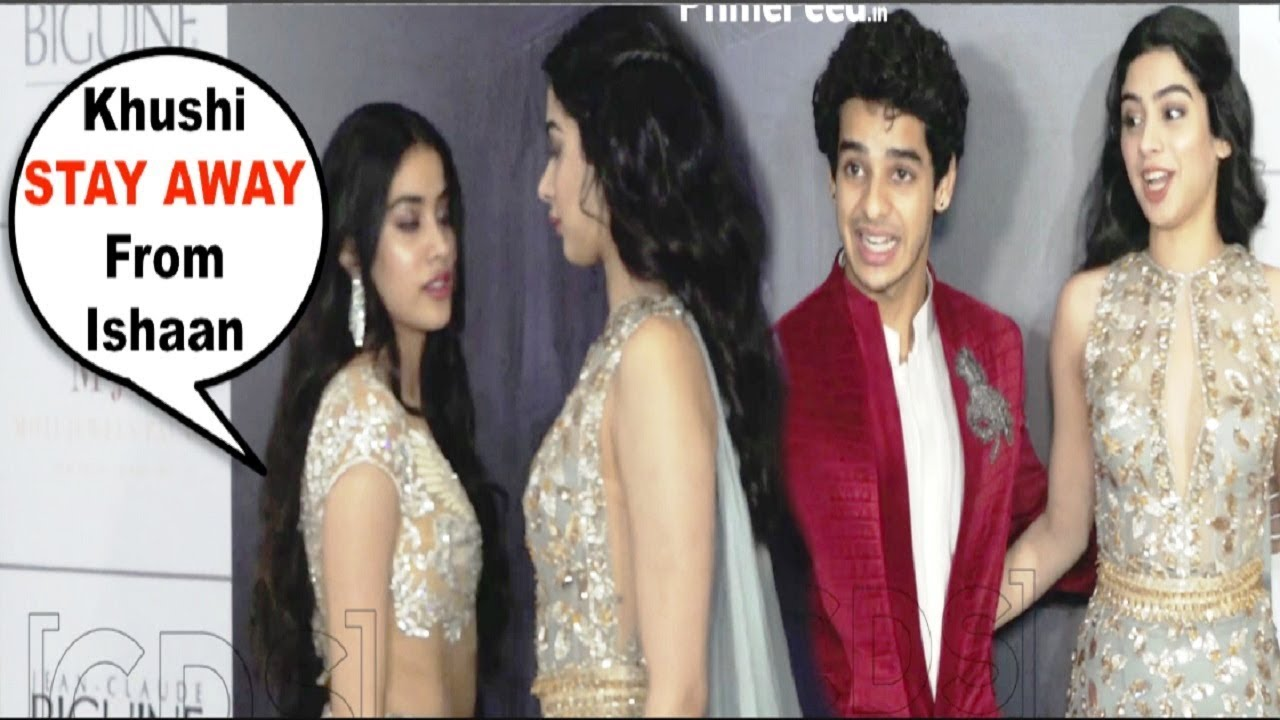 Download Jhanvi Kapoor FIGHT With Sister Khushi Kapoor For Getting Close To Ishaan Khattar