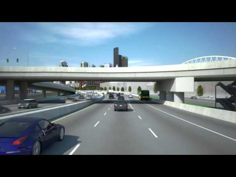 Highway 99 Alaskan Way tunnel simulation