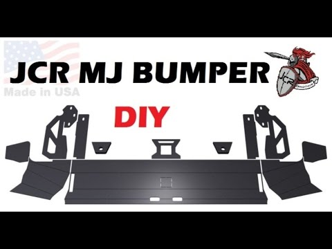 JCR Offroad DIY bumper kit for the MJ Comanche. Project Tetanus!