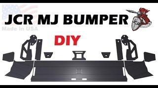 JCR Offroad DIY bumper kit for the MJ Comanche. Project Tetanus!