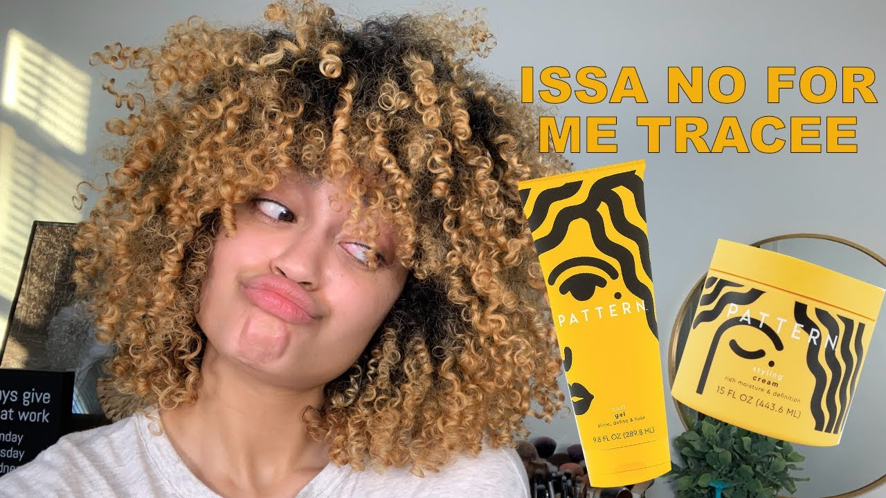 Why the NEW Pattern Beauty Products Didn't Work for Me / Styling Cream + Curl Gel Review