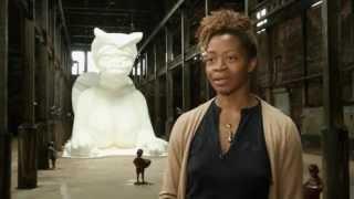 В Нью-Йорке построили 20-метрового сахарного сфинкса http://9kommentariev.ru/