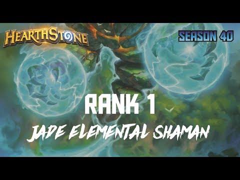 Hearthstone - Rank 1 - Jade Elemental Shaman