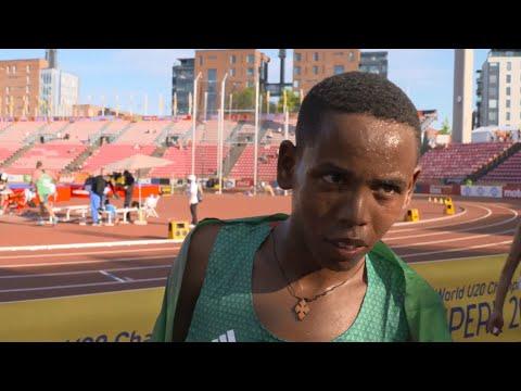 IAAF World Under 20 - Tampere - Berihu Aregawi ETH 10,000 Metres Men Bronze