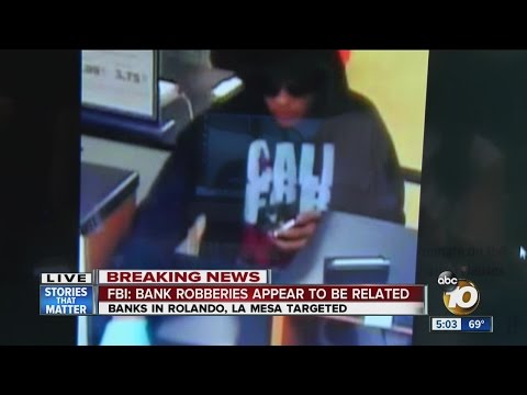 FBI: Man robbed two banks in span of 30 minutes