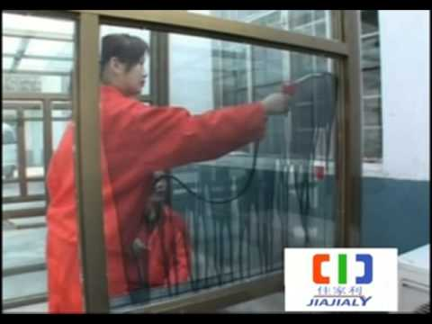 How to apply type B JJL-TIGC nano thermal insulation and anti UV glass coating