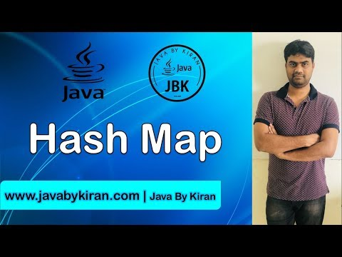 Hash Map -By Kiran Sir-Java By Kiran,Pune