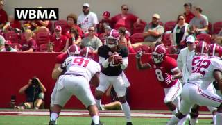2017 Alabama A-Day Highlights