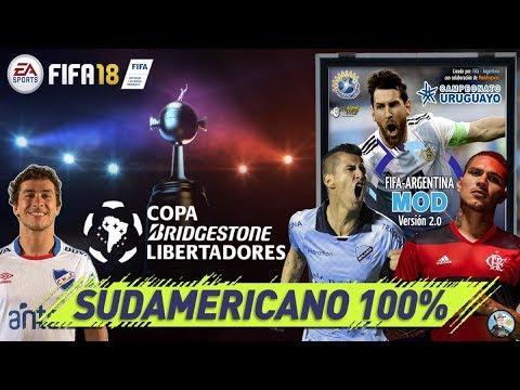 FIFA 18 | SUPERLIGA - NACIONAL B - LIGA URUGUAYA - COPA LIBERTADORES | F-A MOD 2.0