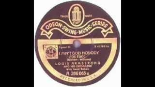 Louis Armstrong + Henry Red Allen 1929 - I Ain´t Got Nobody - non vocal
