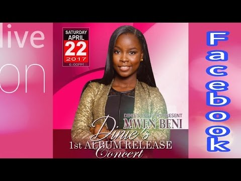 Dinie Alexis live on Facebook Promoting her concert please come tonight at her concert at 6pm