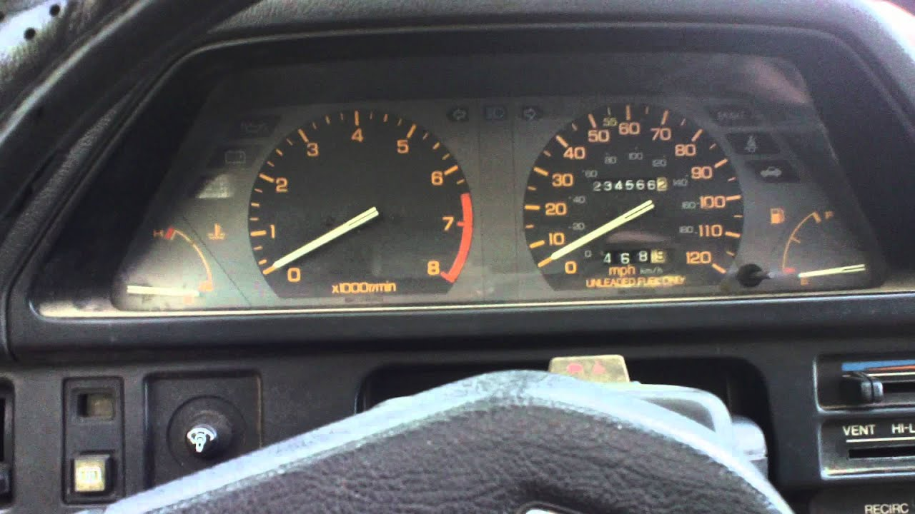 Honda Accord Sedan >> 1986 Honda Civic Si start up - YouTube