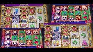 WIFE PLAYS THE UNKNOWN CHINA SHORES CLONE MYSTICAL MONARCH SLOT MACHINE! BIG WINS!