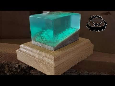DIY Glowing Epoxy Resin Decoration | Idee mit Epoxidharz