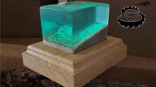 DIY Glowing Epoxy Resin Decoration | Idee mit Epoxidharz
