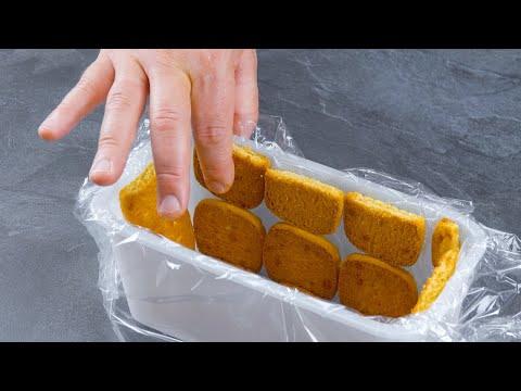 recouvrez-le-tupperware-de-film-alimentaire-et-de-biscuits-|-sorti-du-congélateur,-c'est-délicieux
