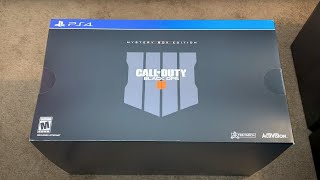 Call of Duty Black Ops 4 Mystery Box Unboxing: PS4! (BO4 Collectors Edition)