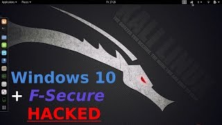Hack Windows 10 + F-SECURE (bypass Antivirus, Firewall, Smartscreen) [HD]