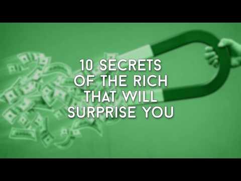 10 Surprising Secrets of the Rich - 101 Financial