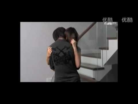 Yes or No (behind the Scenes) Tina and Aom hugging