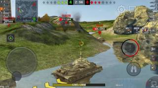 World Of Tank Blitz Full HD Test IS 7 in Sam sung S6 edge plus