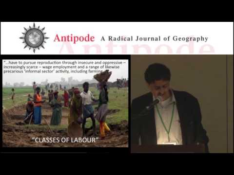 Antipode Annual Lecture: People Without Property in Jobs
