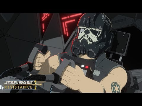 Sixty Seconds to Destruction | Star Wars Resistance | Disney