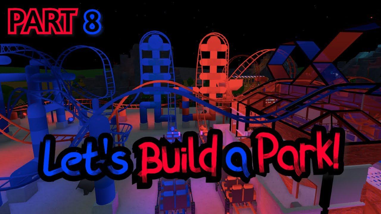 Let's Build A Park! Finale: DUAL COASTERS (Theme Park Tycoon 2)