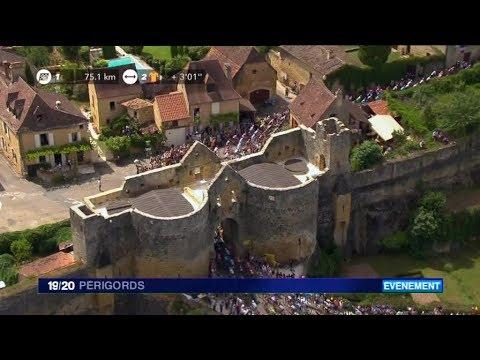 Le Tour de France à Domme (Dordogne)