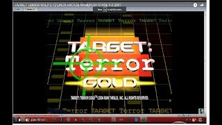 PC ARCADE TARGET TERROR GOLD 2.12 LINUX ARCADE GAMEPLAY STAGE 1-3 2017