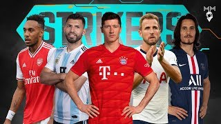 Top 10 Strikers in Football 2019 ● HD