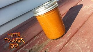 Candied Jalapeno Apple Barbecue Sauce Recipe - How To Make A Homemade Bbq Sauce