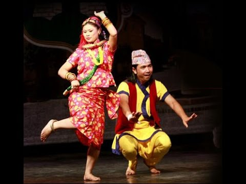 best cultural dance of nepal dang youtube